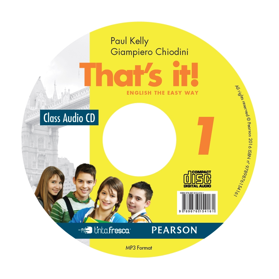 That´s it! 1 CD